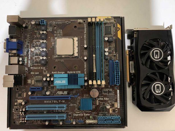Motherboard AM3 + GTX 650 Ti Boost + 6Gb Ram