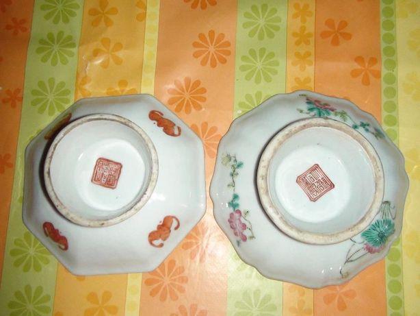 Taças chinesas séc. XIX