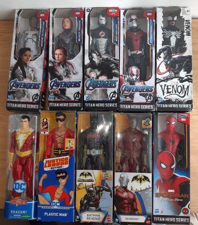 Venom, Homem-Formiga, Homem-Aranha, etc. DC e Marvel