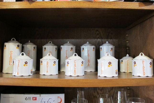 Pojemniki ceramiczne rumuńskie prl