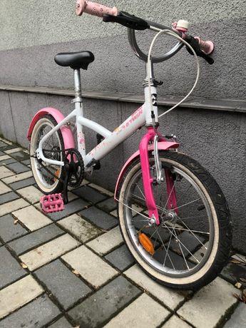 Rowerek dziecięcy 16 cali - Dziewczynka - Decathlon