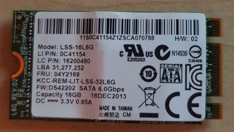 Dysk twardy SSD M.2 16GB LITE-ON LSS-16L6G 6Gb/s