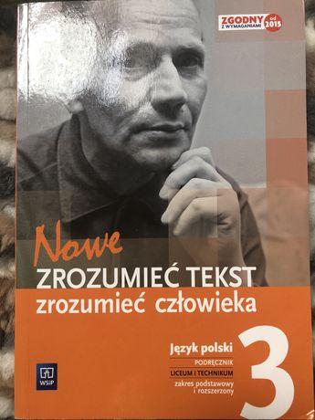Zrozumieć tekst zrozumieć człowieka 3 podręcznik język polski
