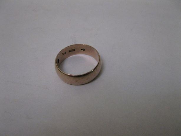 Кольцо золотое обручальное (обручка) 375 пробы производство СССР