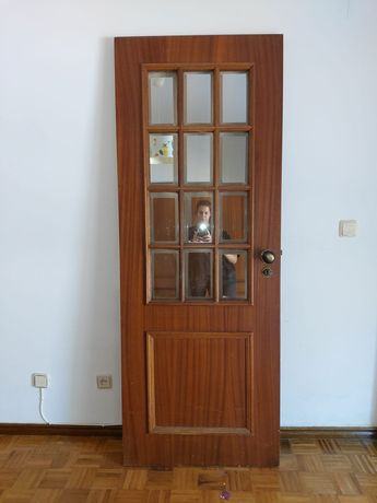 Várias Portas interiores madeira (6)  desde 15€