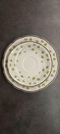 Porcelana Ćmielów dwa talerzyki