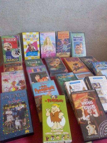Cassetes DVD