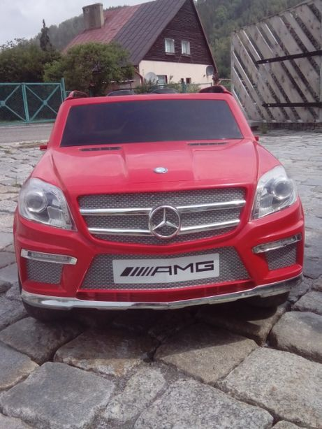 Mercedes AMG dla dziecka na akumulator
