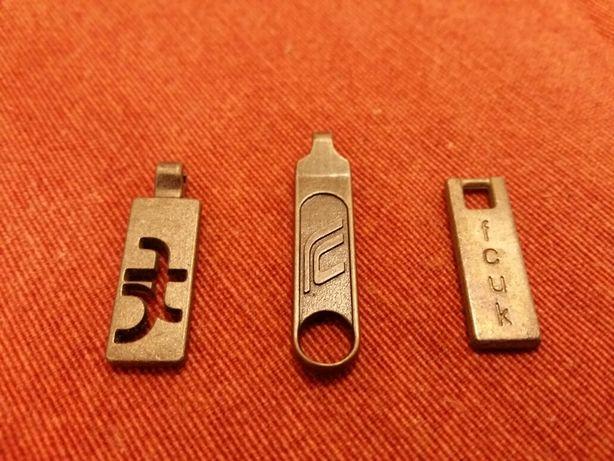 Puxadores para Fechos Eclair (Metal) - Novos