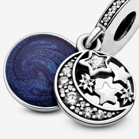 Zawieszka charms Niebo pełne gwiazd do bransoletki Pandora S925
