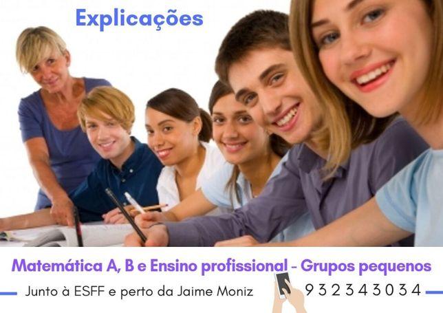 Explicações Matemática junto à Francisco Franco e Jaime Moniz!