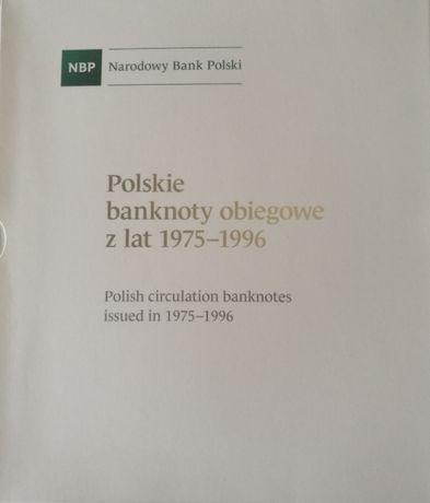 Album Kolekcjonerski POLSKA PRL Polskie Banknoty Obiegowe Lata 75-96
