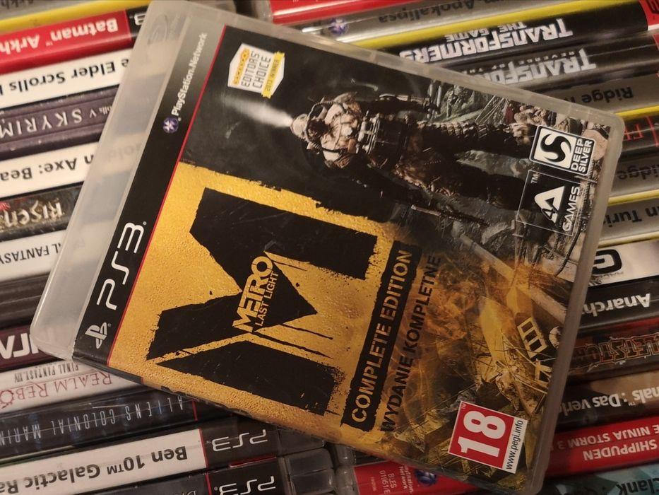 Metro Last Light Complete Edition PL PS3 sklep Ursus Warszawa - image 1