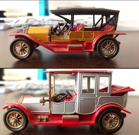 2 miniaturas Rolls Royce Matchbox