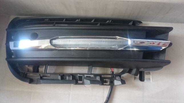 Левая сторона ДХО (дневные ходовые огни) Volkswagen Touareg 2