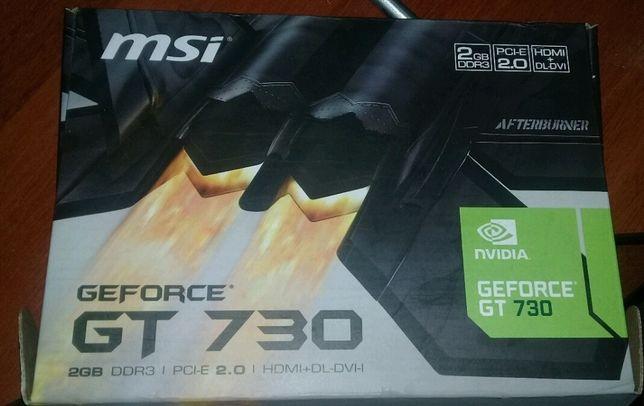 Видеокарта GeForce GT 730 ddr3 (2GB)