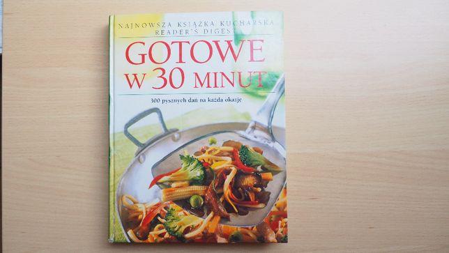 Książka kucharska Gotowe w 30 minut twarda oprawa