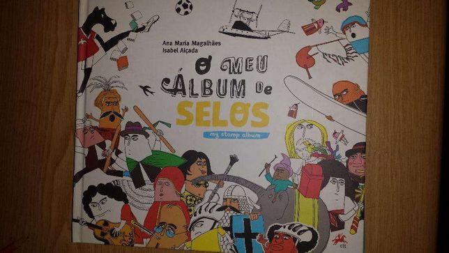 """O meu album de Selos """"sem selos"""" dois diferentes"""
