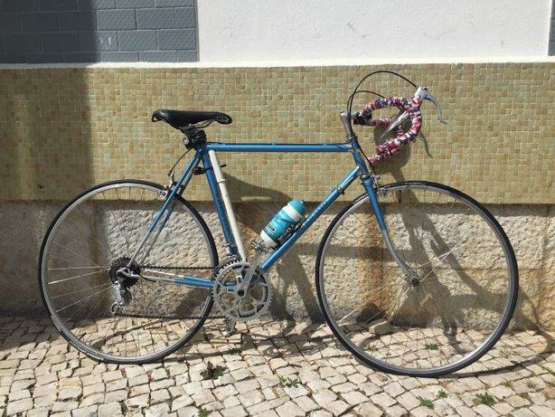 Bicicleta de Estrada, Ciclismo Antiga e toda restaurada
