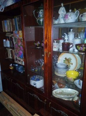 Стенка шкаф (Житомирская) с антресолями