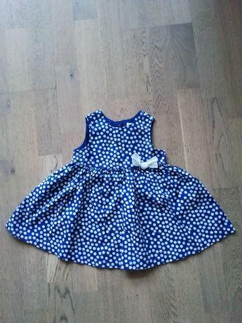 Sukienka, rozmiar 74
