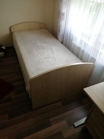 Sprzedam łóżko młodzieżowe! 90x200 cm! Z materacem!