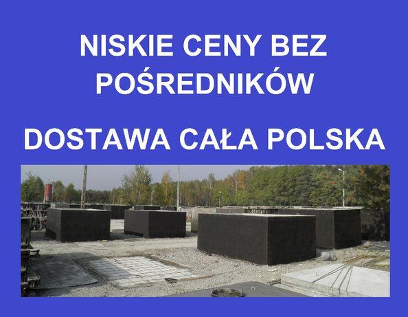 zbiorniki betonowe betonowy na szambo szamba deszczówkę 3,5,6,10,12m3