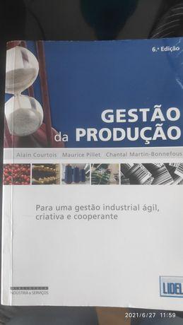 Livro Gestão da Produção