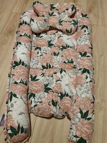 Kokon niemowlęcy jukki poduszka kolderka styl La millou