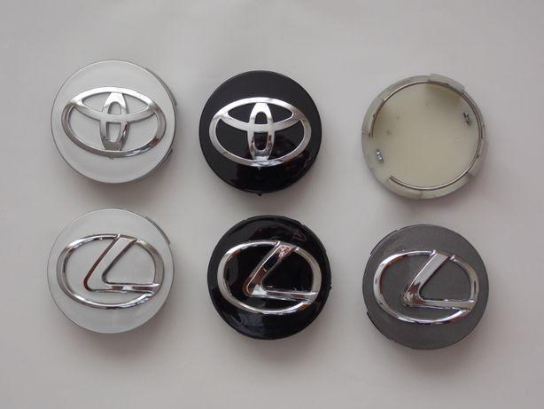 Колпачки заглушки Тойота Toyota  Lexus Лексус 62мм  в для литых дисков