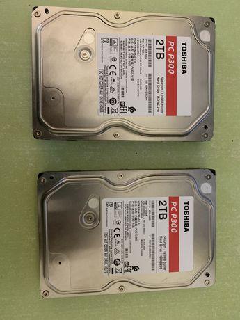 Жесткий диски Toshiba 2 TB есть 2 в наличие на гарантии