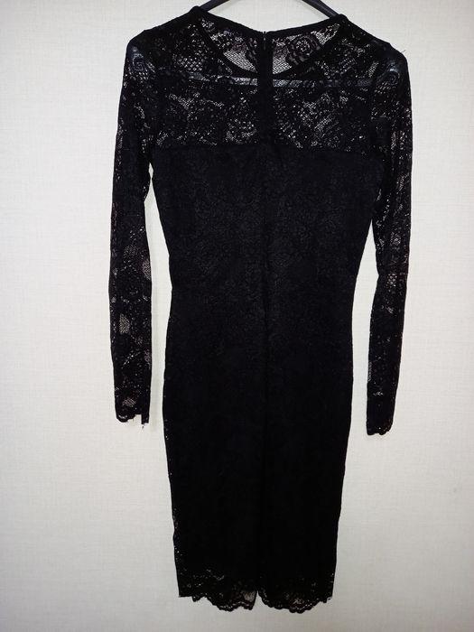 Платье чёрное кружевное Киев - изображение 1