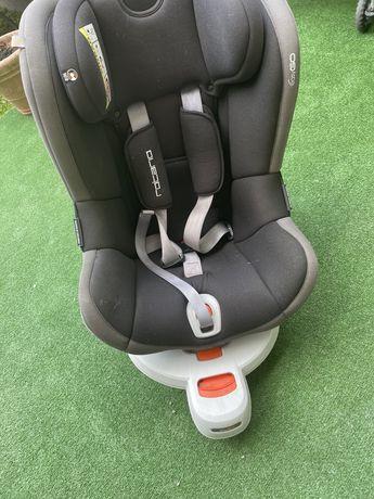 Fotelik Easy Go Rotario Carbon 0-18Kg obrotowy