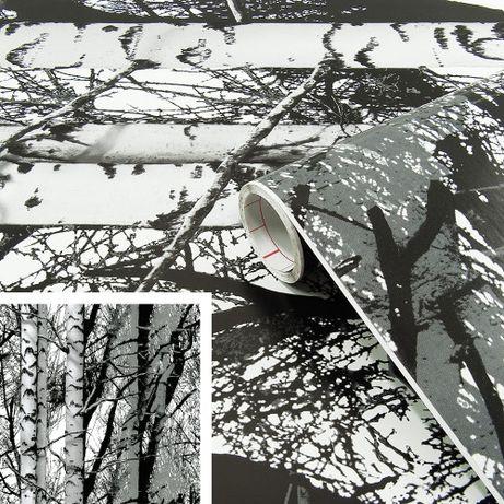 Okleina meblowa folia samoprzylepna tapeta drzewa 67x200