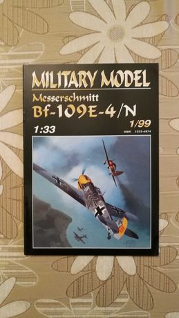 Messerschmitt Bf-109 E-4/N 1999 Military Model