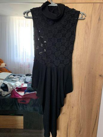 Платье вечернее прозрачный ажурный верх 36 (S)