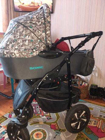 Универсальная детская коляска 3 в 1 SONIC
