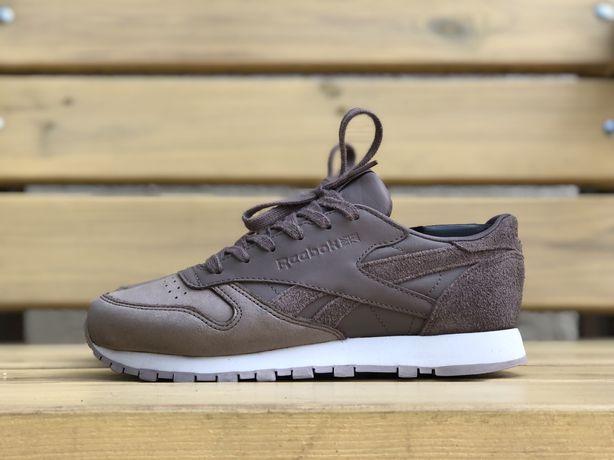 Бесплатная доставка женские кроссовки Reebok Classic Leather оригинал