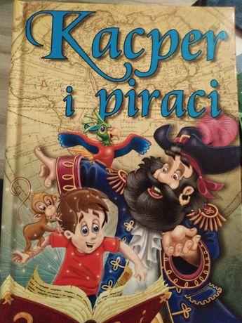 Kacper i piraci książka dla dzieci