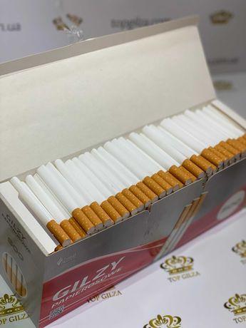 Гильзы для сигарет, для табака, сигаретні гільзи GILZA  500 1 ящ