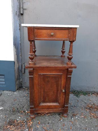 Stara szafka z marmurowym blatem