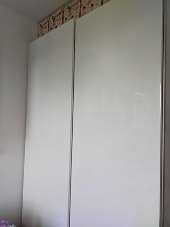 Drzwi przesuwne PAX IKEA BIALE 150x236 cm
