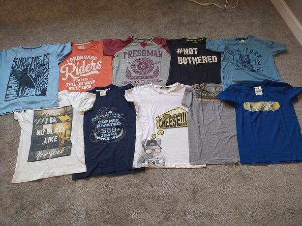 Zestaw 10 koszulek