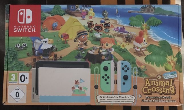 Consola Nintendo Switch Animal Crossing Limited Edition