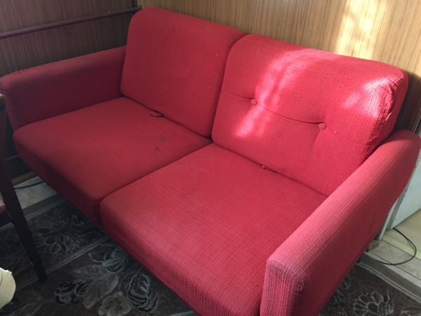Sofa rozkladana, uzywana
