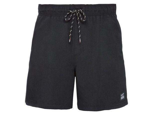 LIVERGY szorty męskie kąpielowe, rozmiar S (4), kolor czarny, NOWE!