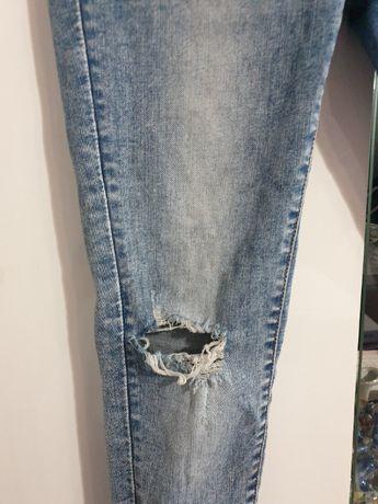 Jeansy cienkie z butiku Modne