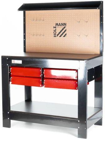 Bancada de trabalho em madeira MDF robusta 1120X610mm Capac. 200kg