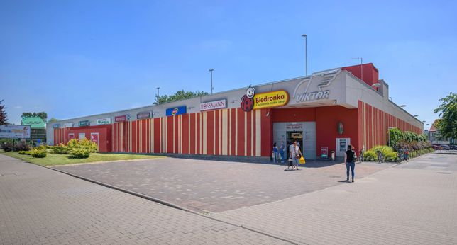 Miejsce pod foodtruck CH Viktor Wrocław Strzegomska 194