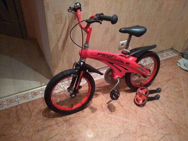 Продам детский велосипед Profi, колеса 16